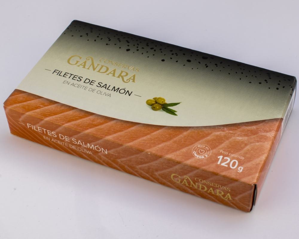 Estuche de filete de Salmon